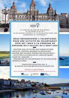 CES à La Corogne, Espagne -  5 juillet au 5 août 2021