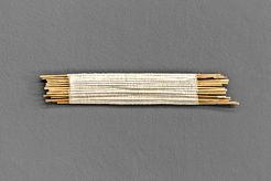 sans titre (blanc beige) 2019 lin roseau
