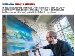 Interview in Dagblad van het Noorden