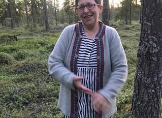 Kirjoita metsän tarjottimella
