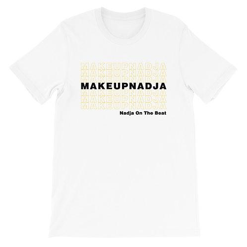 Short-Sleeve Unisex Black and Gold T-Shirt