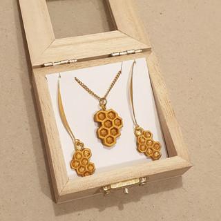 honeycomb jewelry