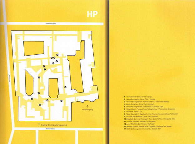 Die Ordnung der Dinge - Location Map