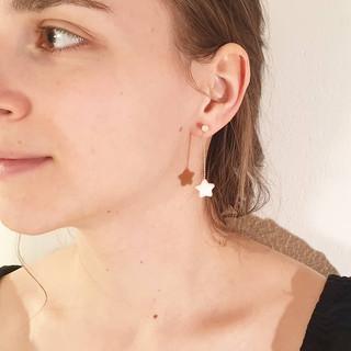 cinnamon star earings