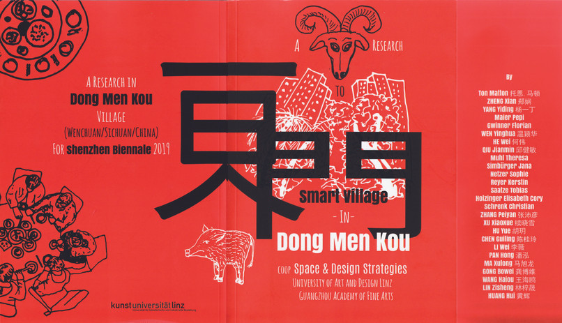 Publikation - Smart Village - Dong Men Kou - Book Cover