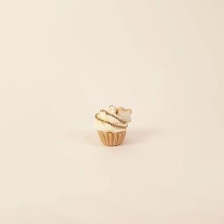 cinnamon star cupcake charm