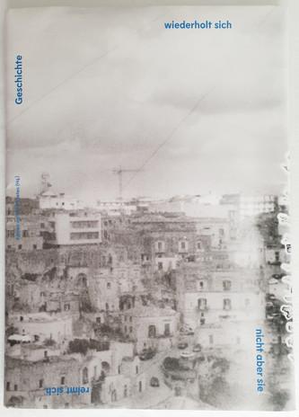 Publikation - Geschichte wiederholt sich nicht, aber sie reimt sich - Cover Front