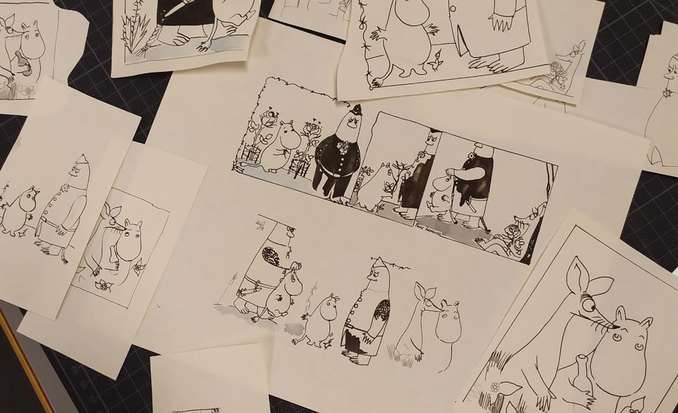Drawing MOOMINS.