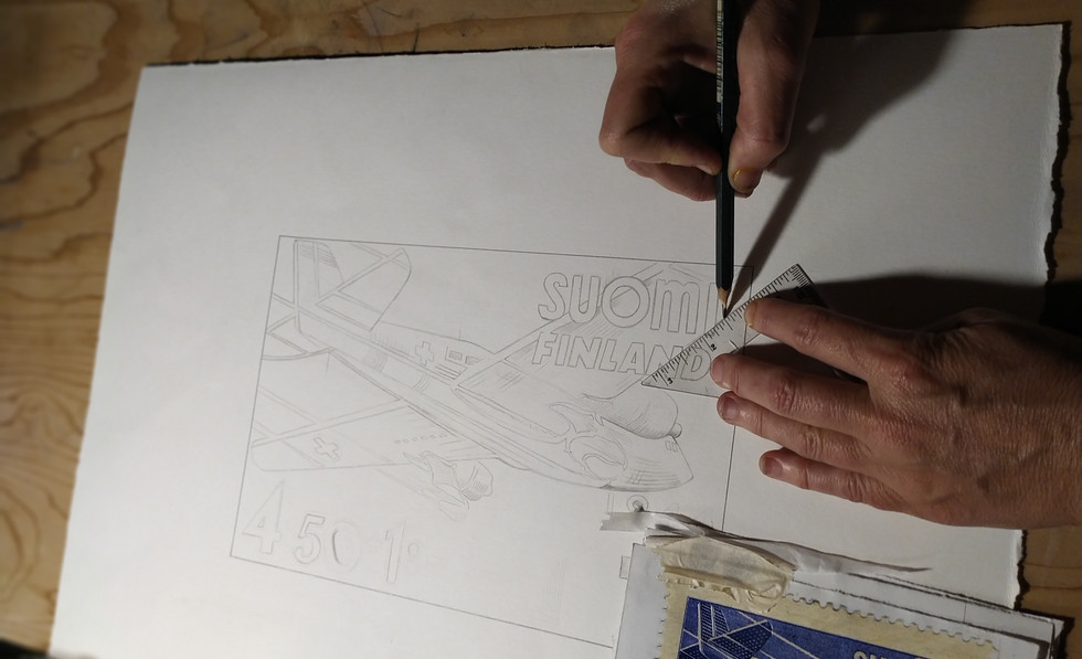 Sketch of a Stamp