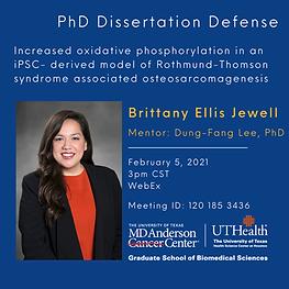 Brittany Jewell PhD Dissertation Defense
