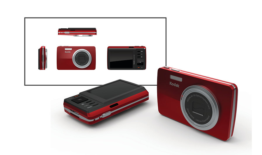 Kodak M Series Camera Design Render