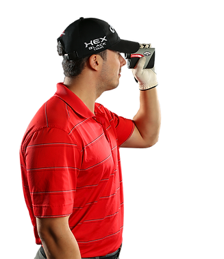 Callaway Golf Rangefinder In Use