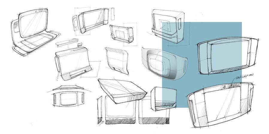 ELO Medical Tablet Sketches