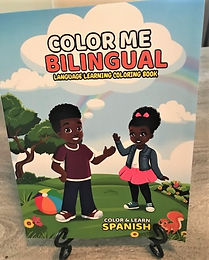 Individual Color Me Bilingual Coloring Book