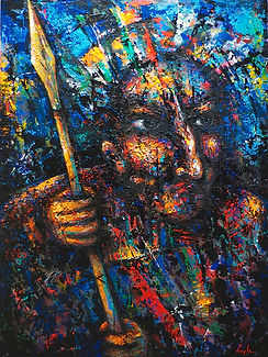 Warrior Painting