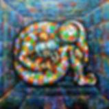 Rubik's Cube Painting