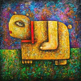 Strange Animal Painting