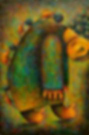 Stress Describing Painting