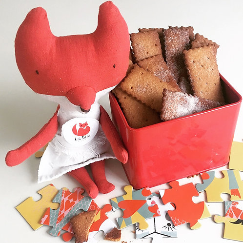 Baby Bites: Maple Graham Crackers