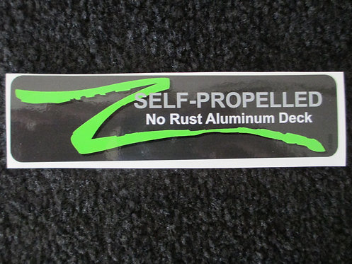 LAWN-BOY SELF-PROPELLED NO RUST ALUMINUM DECK DECAL
