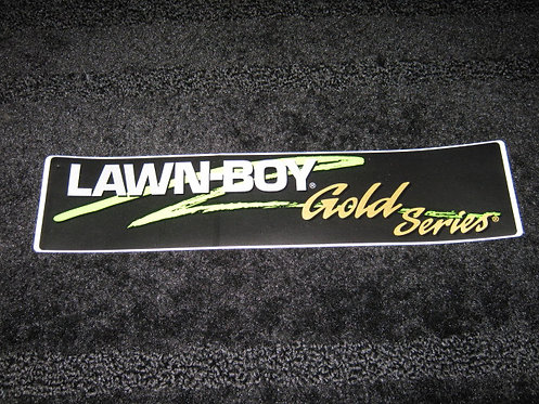 LAWN-BOY GOLD SERIES CONSOLE DECAL