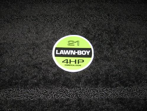"LAWN-BOY 21"" 4 HP RECOIL DECAL"