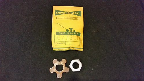 LAWN-BOY RPM EARLY BLADE NUT PART 677313 (NOS)