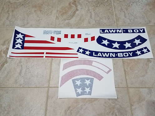 LAWN-BOY MODEL 8250X DECAL SET