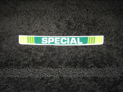 LAWN-BOY SPECIAL SHROUD DECAL