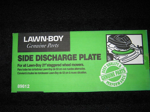 LAWN-BOY SIDE DISCHARGE PLATE (NEW)