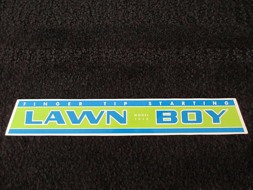 LAWN-BOY ENGINE DECAL MODEL 1013