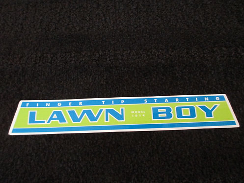LAWN-BOY ENGINE DECAL MODEL 1014