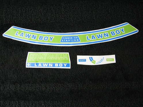 LAWN-BOY 5 PIECE DECAL SET MODEL 7256
