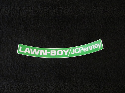 LAWN-BOY /JCPENNEY SHROUD DECAL
