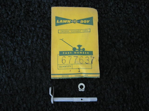 LAWN-BOY THROTTLE SHAFT PART # 677637 (NOS)