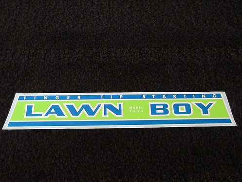LAWN-BOY ENGINE DECAL MODEL 3054