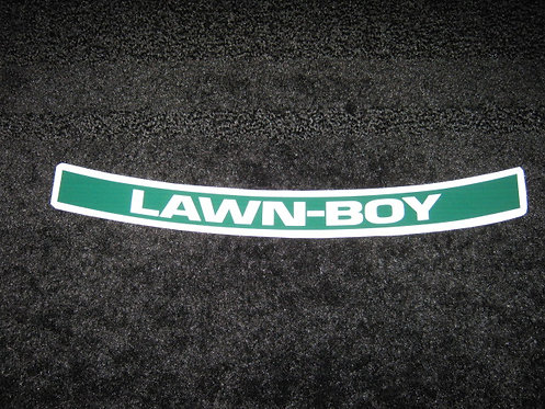 LAWN-BOY COMMERCIAL SHROUD DECAL