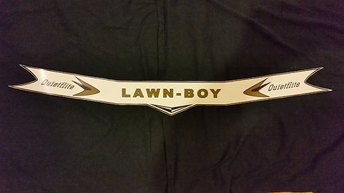 LAWN-BOY QUIETFLITE SHROUD DECAL