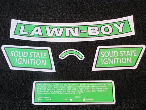 LAWN-BOY 5 PIECE DECAL SET
