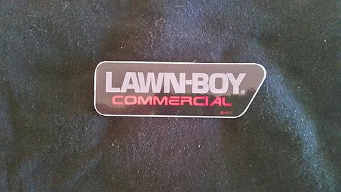 LAWN-BOY COMMERCIAL SHROUD DECAL# 99-1517