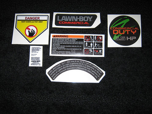 LAWN-BOY MODEL 22260 COMPLETE MOWER DECAL SET