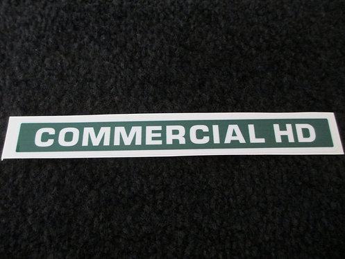 LAWN-BOY COMMERCIAL HD DECK DECAL