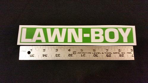 LAWN-BOY BRICKTOP REPLACEMENT LOGO DECAL