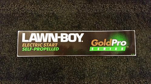 LAWN-BOY GOLD SERIES DURAFORCE CONSOLE DECAL