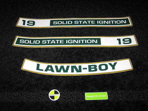 "LAWN-BOY 19"" D SERIES SOLID STATE IGNITION 5 PIECE SET"