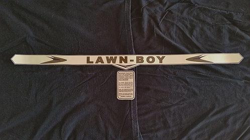 LAWN-BOY 2 PIECE GOLD SHROUD 1950S DECAL SET