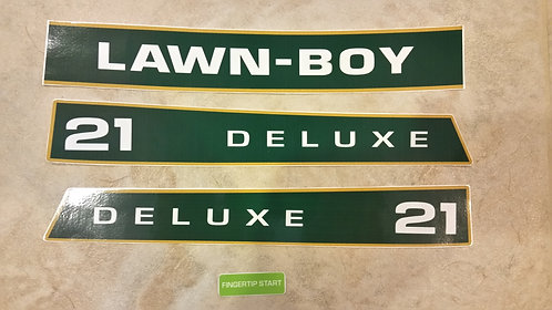 "LAWN-BOY 21"" DELUXE 4 PIECE DECAL SET"