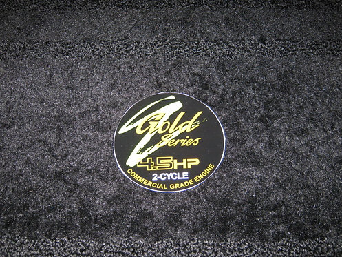 LAWN-BOY GOLD F SERIES 4.5HP 2-CYCLE  RECOIL DECAL