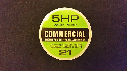 LAWN-BOY COMMERCIAL C21ZMR RECOIL DECAL