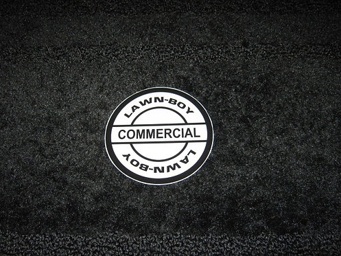 LAWN-BOY COMMERCIAL RECOIL DECAL